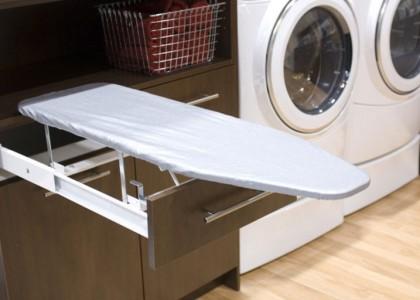 Cómo guardar la tabla de planchar
